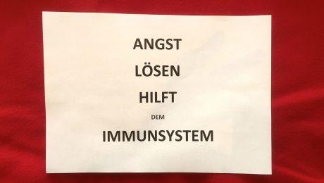 Angst lösen hilft dem Immunsystem